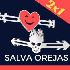 SALVA OREJAS (3).png Télécharger fichier STL EAR SAVER (protection auditive) Covid • Modèle pour imprimante 3D, melro_mh