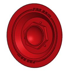 Tapa Rueda VFR.png Télécharger fichier STL Enjoliveur de roue VFR 400 NC24 • Modèle pour impression 3D, lucianomarquez3