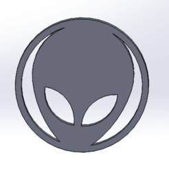 filtro alien.png Download STL file Weed Alien Filter • 3D printer object, lucianomarquez3