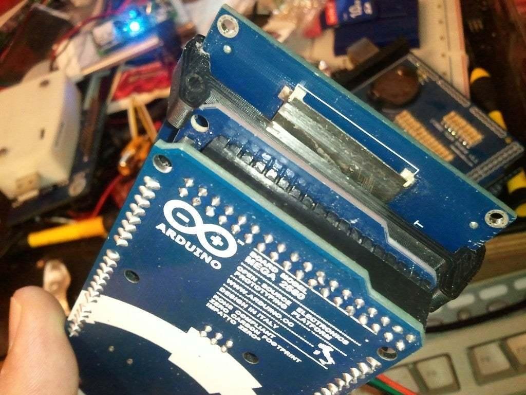 WP_001088.jpg Download free STL file Arduino mega iteadstudio LCD shield holder • 3D printing object, eried