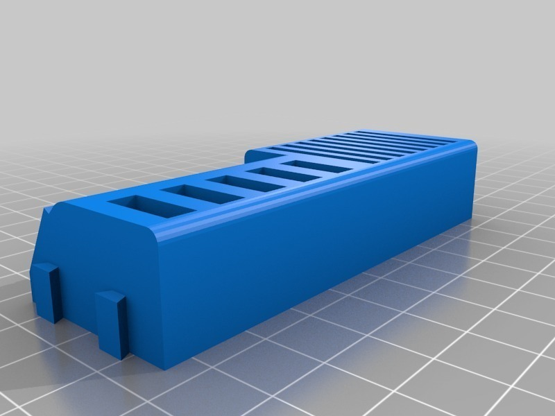 sdmicrousbholder3_fix.jpg Download free STL file Sd, MicroSd and USB holder • 3D printable model, eried