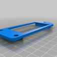 Download free STL file Window dock for the Pi Zero official case • 3D printable model, eried