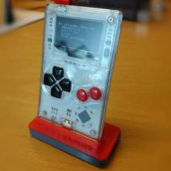 dock_thingiverse.jpg Download free STL file Arduboy Dock • 3D printable model, eried