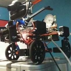 Télécharger objet 3D gratuit Robot de sauvetage imprimable pour l'industrie minière, eried