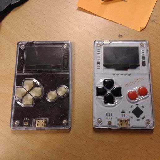 Download free STL Arduboy buttons, eried