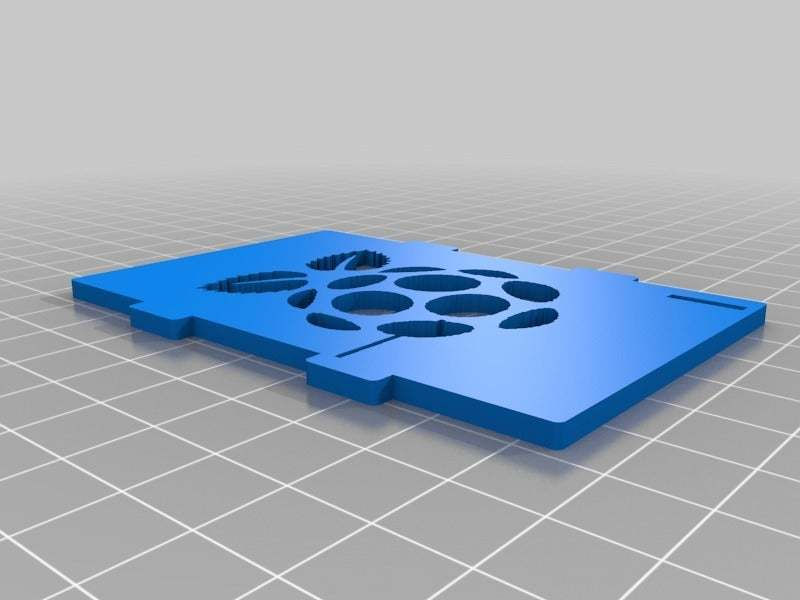 customizable_image_top_2014-08-26_20140825-3211-1pywllz-0.jpg Download free STL file Raspberry logo - Improved customizable Top cover case for the Raspberry Pi • Design to 3D print, eried