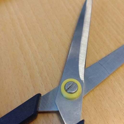 Télécharger fichier STL gratuit Ciseaux de Fulton - Remplacement de la broche centrale • Design pour impression 3D, eried