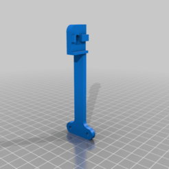 Download free STL files Filament guide w/ filament sensor for 2020 aluminium beam, eried