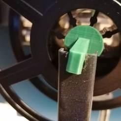 Télécharger fichier STL gratuit Mini porte-bobine pour Hictop Prusa i3 • Design à imprimer en 3D, eried