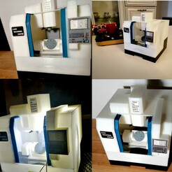 1.jpg Download STL file CNC machining centre(Five axis) • 3D printable model, 3Drafter