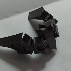 Download STL file Batman Batarang flexi - articulated • Template to 3D print, Ignecio