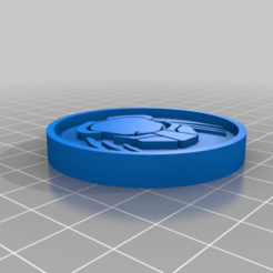 Download free 3D printer templates Predator Keychain, justinmcleish2