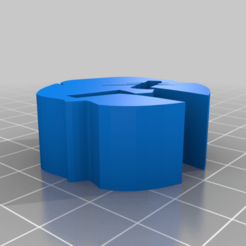 Paracord_spartan_bead.png Download free STL file spartan bead for paracord 555 • 3D print object, justinmcleish2