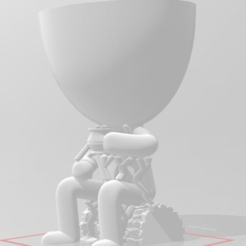 r1.png Download free STL file Robert Plant with supports • 3D print design, hugolatra