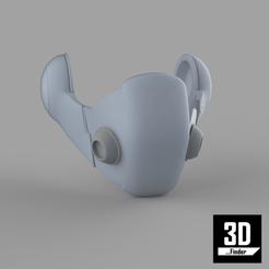 00.png Download STL file Dragon Ball Mask for 3D Pring STL • 3D printer template, 3DFinder