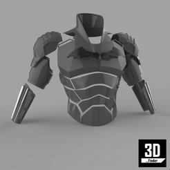 Download 3D printing templates Batman 2021 Armor for 3D Printing, 3DFinder