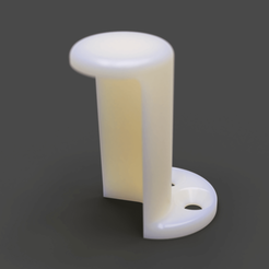 MINI adapter holder 0.png Download OBJ file Prusa MINI power adapter holder • Model to 3D print, VladimirJonas