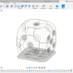 Kostka 3.png Télécharger fichier OBJ Dés, imprimable en 3D, non texturé • Plan imprimable en 3D, VladimirJonas