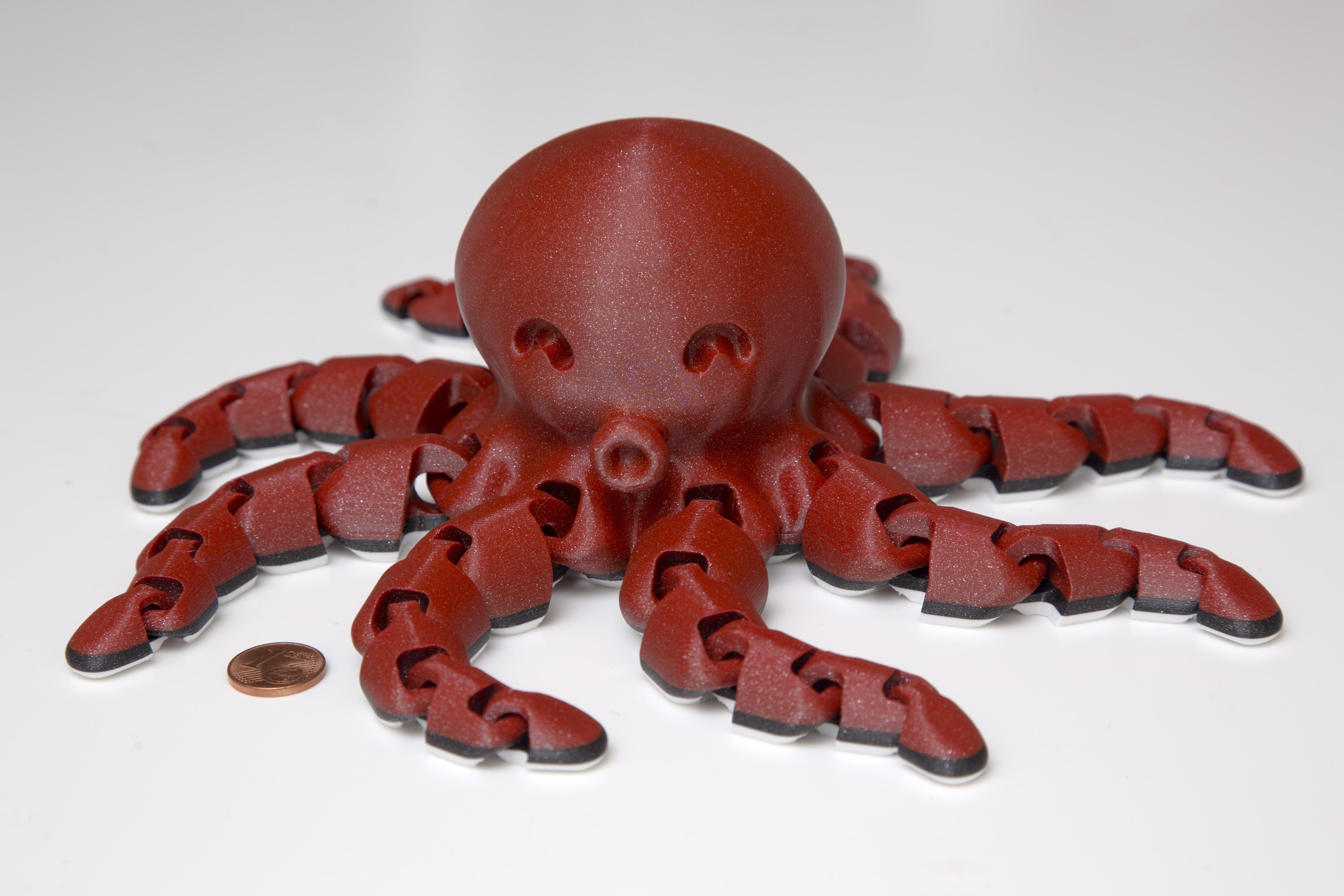 Télécharger fichier STL gratuit Jolie pieuvre miniature • Modèle pour imprimante 3D, VladimirJonas