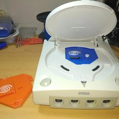 gdemu(0).jpg Download free STL file Dreamcast GDEMU housing with integrated SD Reader and support / GDEMU Dreamcast cover with integrated SD Reader and support • 3D printing object, jsm84b
