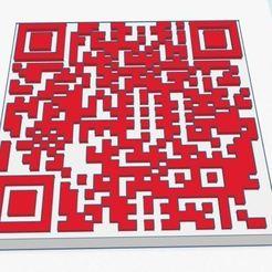 QC_Code.JPG Télécharger fichier STL gratuit QR Code Sheep Coaster • Design pour impression 3D, charleshuangfei