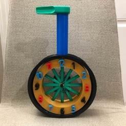 image078.jpg Download free STL file Unicycle Clock • 3D printing template, charleshuangfei
