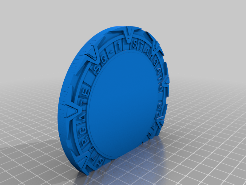 Portal_3.png Download free STL file Stargate Bookend • 3D print design, charleshuangfei