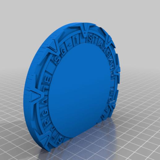 Portal2.png Download free STL file Stargate Bookend • 3D print design, charleshuangfei
