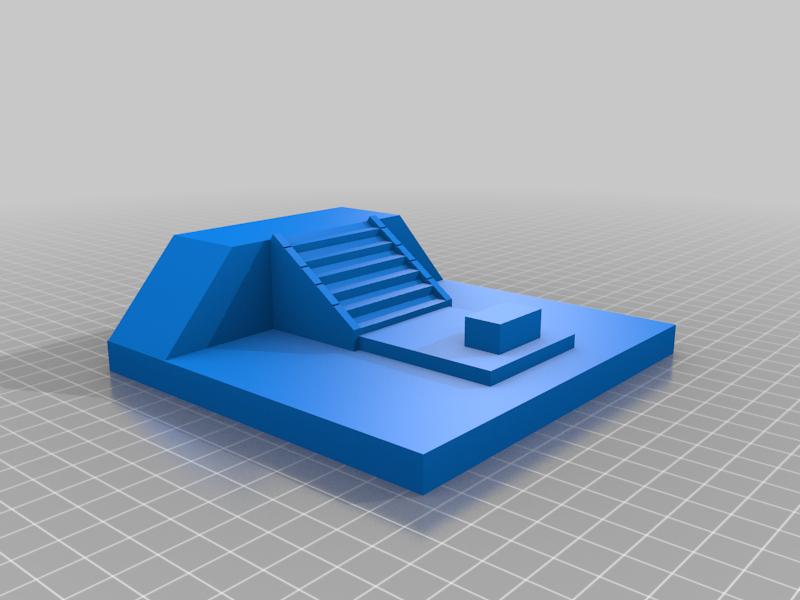 Base2.png Download free STL file Stargate Bookend • 3D print design, charleshuangfei