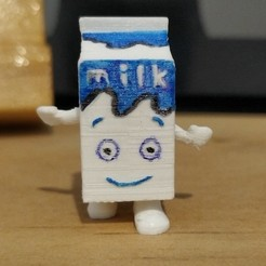 Download 3D printing files Coffee & tv Milk carton, japsol3design