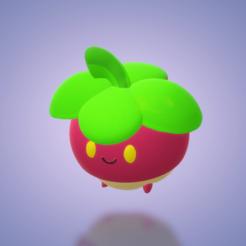 Download 3D model Bounsweet pokemon model, japsol3design