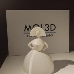 IMG_20201029_112546.jpg Télécharger fichier STL Menina 2020 • Objet pour impression 3D, MOL3D