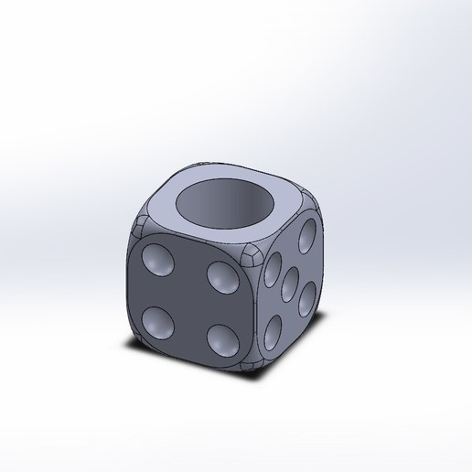 Impresiones 3D El molde de la maceta de dados, maucvCOM