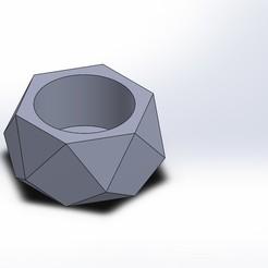Descargar archivo 3D Planter Concrete - 027, maucvCOM