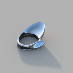 Chinese_spur2.PNG Download free STL file Chinese spur - thumb ring • 3D print template, lego11