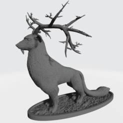 Rae The Forest Deity 2.png Download free OBJ file Rae The Forest Deity • 3D printable model, tbprint