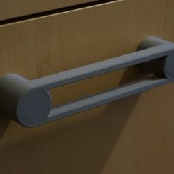 1.JPG Download STL file Modern handle • 3D print design, Nau-Tec