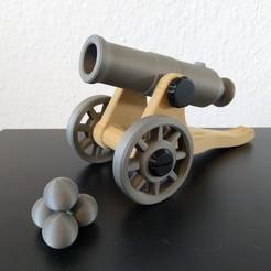 Main_pic.jpg Télécharger fichier STL Toy Canon - fonctionnel • Design à imprimer en 3D, Nau-Tec