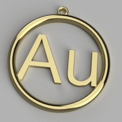 Download free 3D print files Gold pendant, Bukszpryt