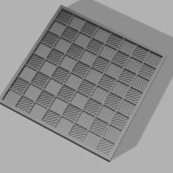 Download free 3D printing files Checkers - mini board game, travel version, Bukszpryt