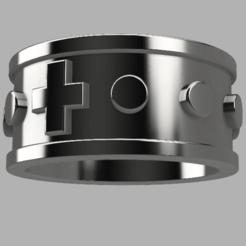 rosary.png Télécharger fichier STL Chapelet • Design imprimable en 3D, Bukszpryt