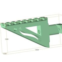 Télécharger modèle 3D gratuit Airsoft AA-12 auto shotgun rail, Lumpilein
