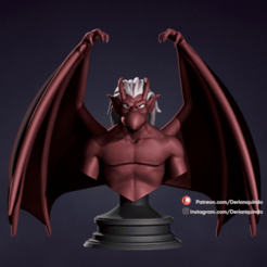 DQ_Brooklyn_v02.png Download STL file Brooklyn v02 / Gargoyles • 3D printable design, DerianQ