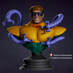 DQ_Octopus_v01_03.png Download STL file Octopus - Spiderman • Design to 3D print, DerianQ