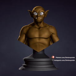 DQ_Lexington_v01.png Download STL file Lexington / Gargoyles • Model to 3D print, DerianQ