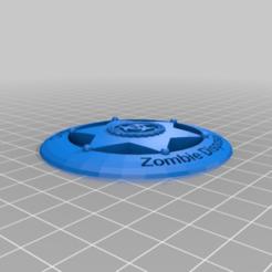 funky_kieran-bombul.png Télécharger fichier STL gratuit Badge - Département de l'élimination des zombies • Modèle pour imprimante 3D, mschafer