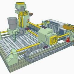 1.jpg Download free STL file CNC 8mm V3 • 3D printing design, francescangelif