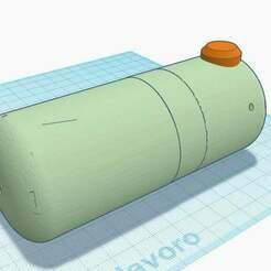 1.jpg Download STL file The simplest and practical pepper sprayer (35mm bottle) • 3D printing design, francescangelif