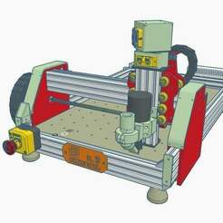 1.jpg Download STL file CNC V9 Oozenest beltless 3 motors • Object to 3D print, francescangelif