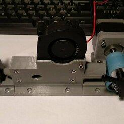 PHOTO_20191130_191108.jpg Télécharger fichier STL V2 Enrouleur de bobine auto/manuel, capteur de diamètre et refroidisseur • Design pour impression 3D, francescangelif